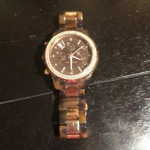 Michael Kors Accessories - Brown and black Michael Kors watch